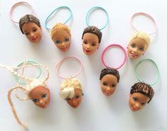 Hey, I found this really awesome Etsy listing at https://www.etsy.com/listing/213748434/barbie-head-ponytails