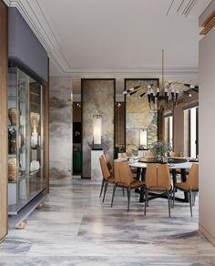 elegante dining room.