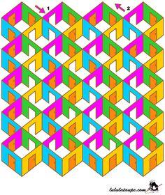 Labyrinthe gratuit à imprimer, difficile