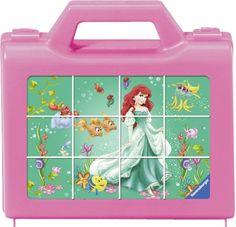 Ravensburger Puzzle Cubes - My Favorite Princesses (12Pcs.) (07472)  Manufacturer: Ravensburger Enarxis Code: 015961 #toys #puzzle #cubes #Ravensburger #Disney #princess