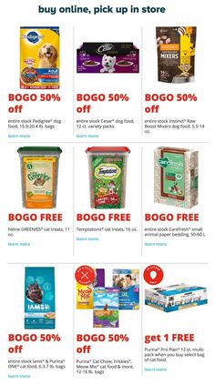 PetSmart Black Friday Preview 2018 Ads and Deals Browse the PetSmart Black Friday Preview 2018 ad scan and the complete product by product sales listing.  #petsmart #blackfriday Dog Food Recipes, Black Friday, Coupons, Ads, Coupon