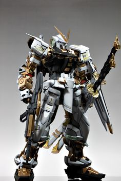 PG 1/60 Gundam Astray MBF-P02 Gold Frame | Modeled by: 써니버니 CLUB S (leee07) SUNY BUNY