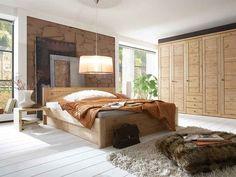Łóżko sosnowe Bristol 180, Pine Furniture - Niemcy - Meble