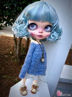 Claudia OOAK Custom Blythe Doll 72 by SweetCrate on Etsy