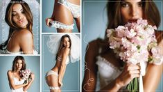 Lily Aldridge: Victoria's Secret Bridal Lingerie '11 Look Book