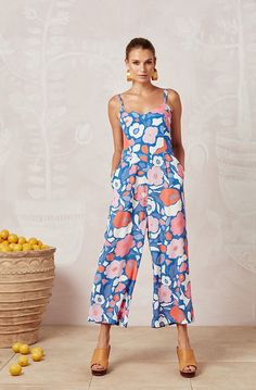 Shop womens colourful jumpsuits, from strapless to wide-leg jumpsuits. Perfect for your next dressy summer cocktail party or holiday. Summer Cocktails, Matilda, Wide Leg, Jumpsuit, How To Wear, Beauty, Neckline, Dresses, Pockets