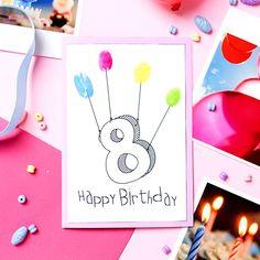 Creadienstag, DIY, Selbstgemachte Einladung Zum Kindergeburtstag Basteln,  Selbstgemacht, Geburtstag, Geburtstagskarte, Puzzle | Kindergeburtstag |  Pinterest ...