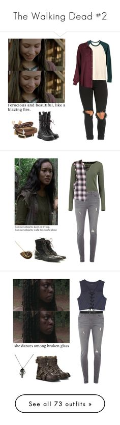 """""""The Walking Dead #2"""" by shadyannon ❤ liked on Polyvore featuring TOKYObay, Old Navy, Rick Owens, Boohoo, Disney, Dorothy Perkins, M&Co, E L L E R Y, Emilie Morris and UGG"""