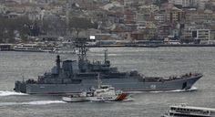 Νέο θερμό Ρωσοτουρκικό επεισόδιο: Ρωσικά πλοία ανάγκασαν τουρκικό να αλλάξει πορεία