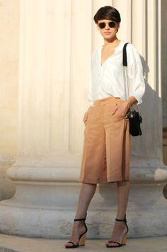 The Stunning Look, bermuda shorts