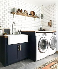 laundry room by Bre Purposed