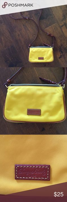Mustard yellow NWOT Dooney and Bourke purse The color is perfect for fall! Only avail to 9/19. Offers welcome but no lowballing. NWOT Dooney & Bourke Bags Crossbody Bags