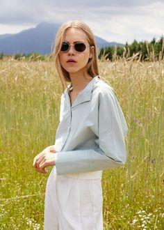 Oval sunglasses | MANGO