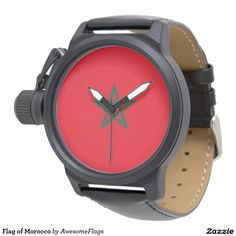 Flag of Morocco Watch