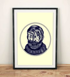 I make original portraits of famous writers and persons. I try to show their works (novels, poems, historical events) on their face. For every