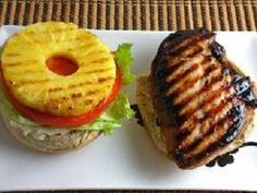 Simply marinate your chicken breast in teriyaki sauce and then grill to perfection. Top with a grilled pineapple slice and serve.