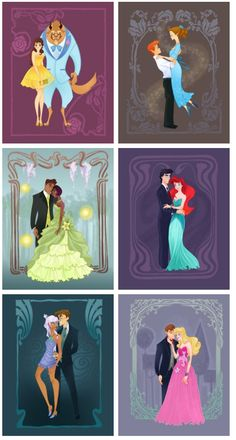 Disney Princess Prom.  I LOVE that they have Peter & Wendy! Forget them, they have Milo and Kida!!!