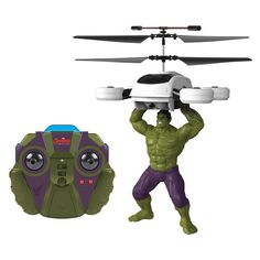 #BlackFriday2015 Marvel Comics Officially Licensed Avengers: Age Of Ultron Hulk 2-channel IR RC Helicopter with Sounds http://www.overstock.com/Sports-Toys/Marvel-Comics-Officially-Licensed-Avengers-Age-Of-Ultron-Hulk-2-channel-IR-RC-Helicopter-with-Sounds/10575910/product.html?CID=245307