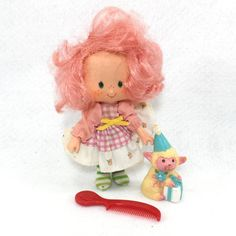Vintage Strawberry Shortcake Party Pleaser Doll Peach Blush Melonie Lamb (#04)  | eBay