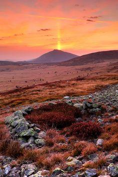 Morning awakening in Krkonose mountains - www.hlavko.webnode.cz