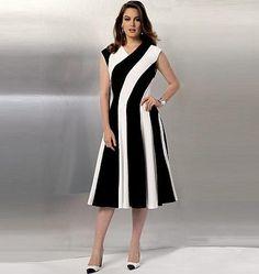 V9145 Misses' Dress