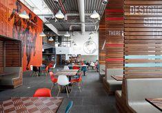 Matte: Centre Court (Nike). #color. #environmental graphics.