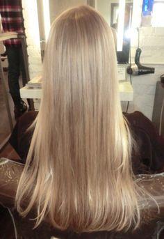 baby blonde hair