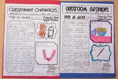 Extra, Extra Read all about the friends in your class!