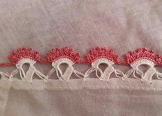Crochet Borders, Crochet Patterns, Crochet Flowers, Embroidery, Lace, Diy, Crochet Edgings, Gems, Crocheting