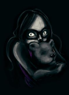 #Fiverr #Gig  http://fiverr.com/emilypaige/draw-you-in-a-creepy-style