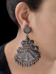 Charm Jewelry, Beaded Jewelry, Silver Jewelry, 925 Silver, Silver Ring, Hammered Silver, Statement Jewelry, Indian Jewelry, Antique Jewelry