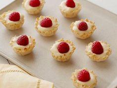 Mini Raspberry Vanilla Tartlets