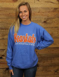 Keep warm to cheer on your favorite Bearkats We have all your chilly weather spirit wear GO SAM HOUSTON STATE