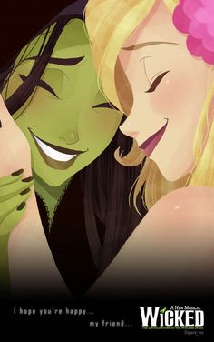 wicked elphaba and glinda - Google Search
