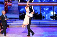 Candace Cameron Bure and Mark Ballas appear in a still from 'Dancing With The Stars' season 18 on May 12, 2014.