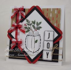 PaperLilies and Ink: CHRISTMAS IN JULY CHALLENGE WITH IMPRESSION OBSESS...