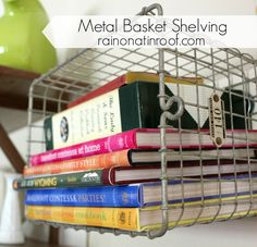 DIY Metal Basket She