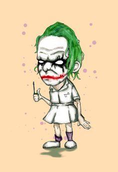 Nurse Clown Fine Art Print by LVBart on Etsy