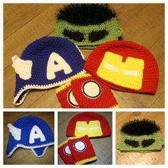 https://www.etsy.com/listing/250122517/avengers-hats-handmade-crochet-newborn