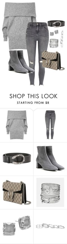 """""""Untitled #153"""" by stylesbylex on Polyvore featuring Acne Studios, River Island, Gucci, Prada, Avenue, Kate Spade and Kendra Scott"""