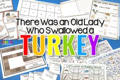 Grab some tips on how to cover content using the book, There Was an Old Lady Who Swallowed a Turkey. You will love these content rich activities.