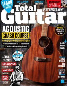 #TotalGuitar 283. #Acoustic crash course! Guitar Magazine, Backing Tracks, Eric Clapton, Led Zeppelin, Classic Rock, Acoustic Guitar, Summer 2016, Indie, Blues