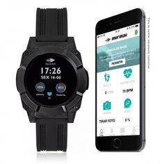 93f05e86c67 Smartwatch Masculino Mormaii Revolution Digital MOSRAB 8P Preto