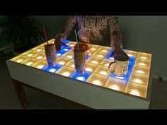 DIY Interactive LED Coffee Table: 16 Steps (with Pictures)