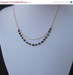 Items similar to Gold and Black Spinel Short Layered Necklace, Layered Gold Gemstone Necklace on Etsy Jewelry Design Earrings, Beaded Jewelry Designs, Gemstone Necklace, Necklace Set, Gold Mangalsutra Designs, Fancy Jewellery, Gold Jewelry Simple, Black Spinel, Layered Necklace