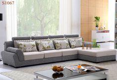 Bàn ghế sofa vải hơi vải nhung hiện đại 3 Corner Sofa Living Room, Living Room Sofa Design, Home Living Room, Living Room Designs, Latest Sofa Designs, Modern Sofa Designs, Sofa Set Designs, Corner Sofa Design, Corner Sofa Set