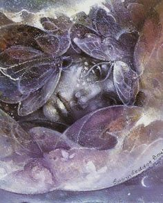 Celtic Moon Goddess Etain by Susan Seddon Boulet Art Visionnaire, Mystique, Moon Goddess, Visionary Art, Illustrations, Native American Art, Surreal Art, Mauve, Amazing Art