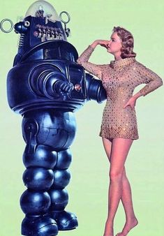 Forbidden Planet- has the guy in it from The Naked Gun films. He is in a serious role in this film and gets a kiss from this lady.