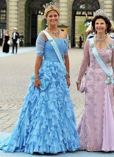 Princess Madeleine of Sweden, at the Royal wedding of Princess Victoria of Sweden and Daniel Westling.
