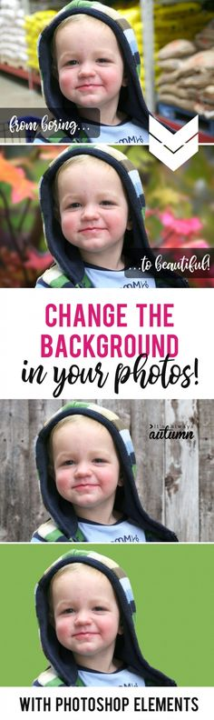 Learn how to easily replace the background in your photos using Photoshop Elements. This is so cool! I can swap out a bad background for a great one.